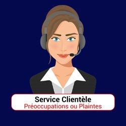 quel service solliciter cas preoccupations plaintes